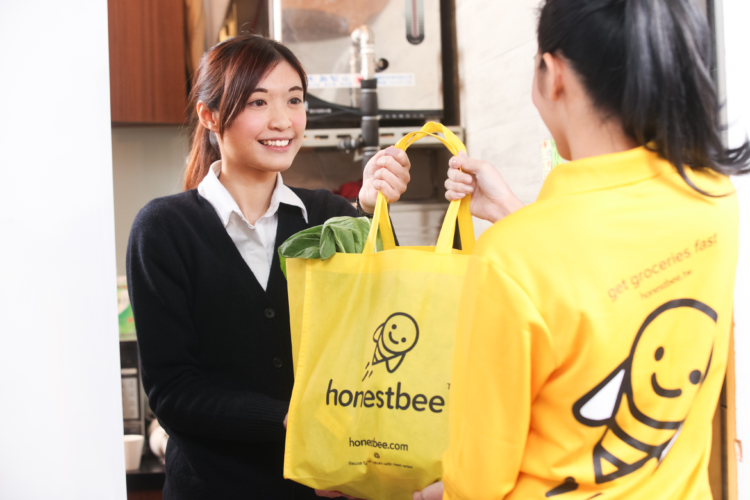 honestbee extends it's service to all of  Hong Kong Island, spreading the  enjoyment of a convenient online  grocery shopping and delivery experience