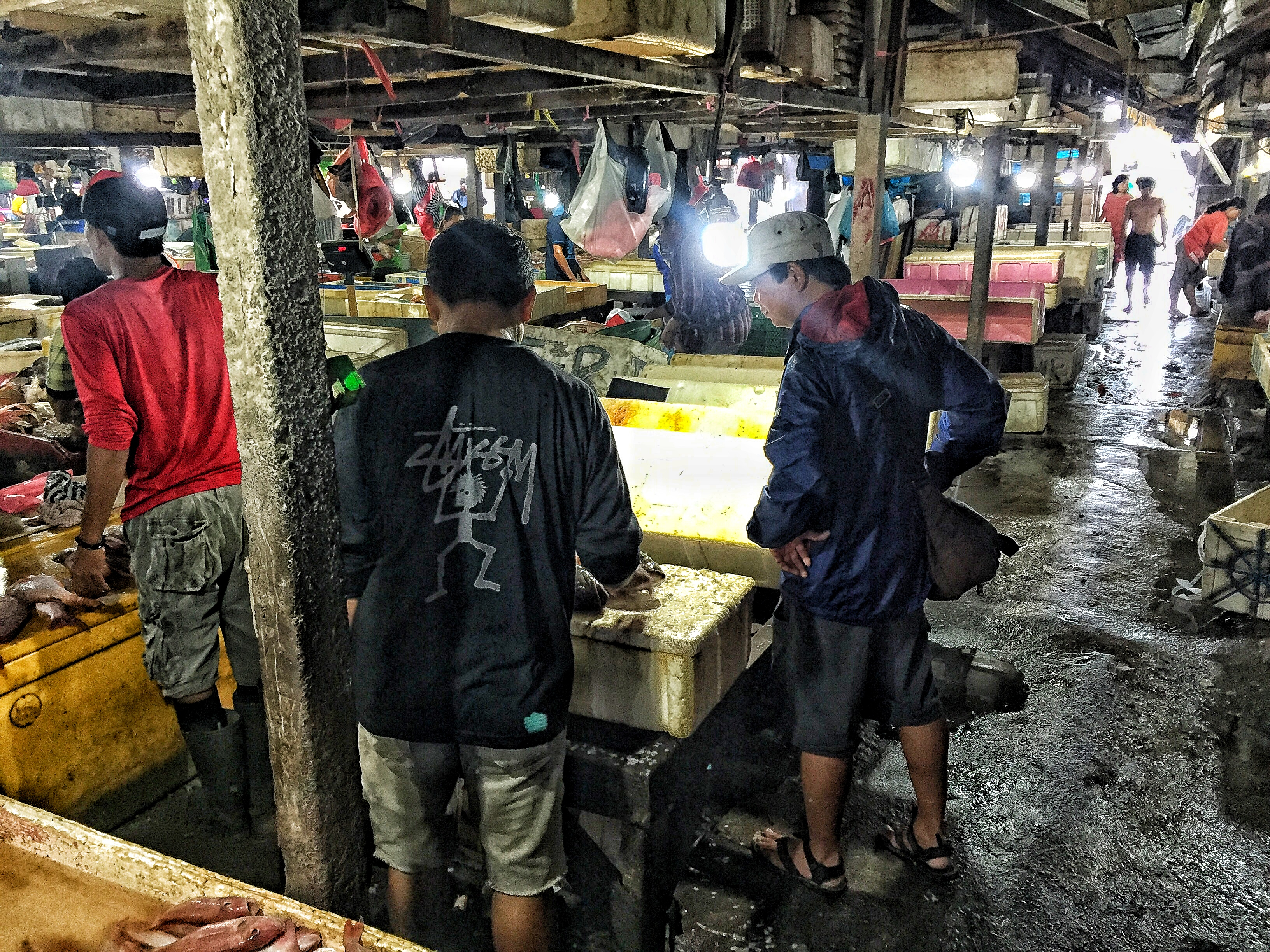 COOKING CLASS AND MARKET SHOPPING WITH THE CHEF FROM THE RITZ-CARLTON BALI market