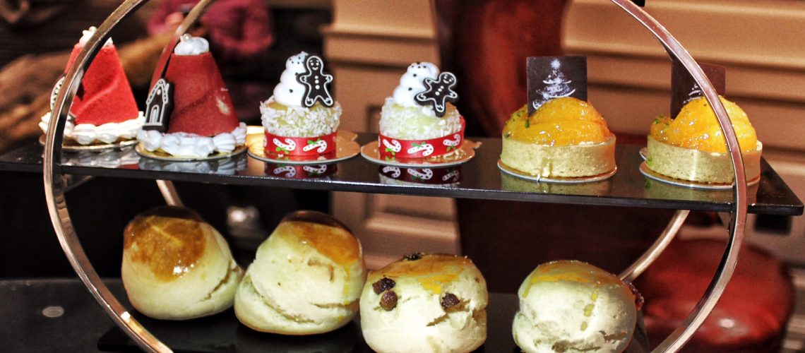 AFTERNOON TEA AT CHINOISERIE Jumeirah Carlton Tower London