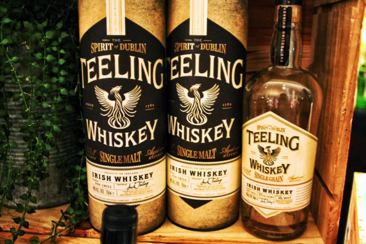 Irish-inspired Teeling whiskey tasting and cheese pairing hosted by Conrad Dublin and Conrad Hong Kong